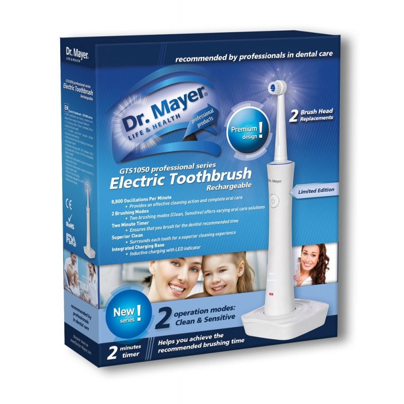 RECHARGEABLE ELECTRIC TOOTHBRUSH GTS1050
